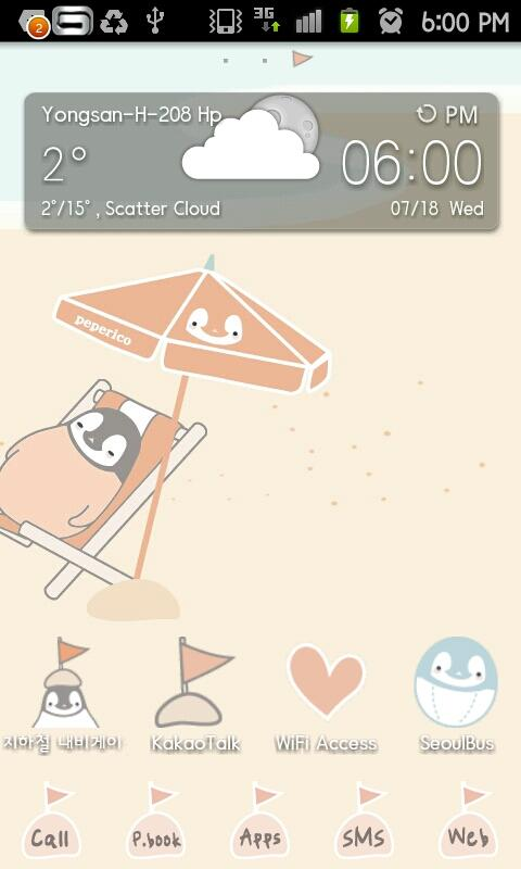 Peperico vacation Go Launcher - screenshot