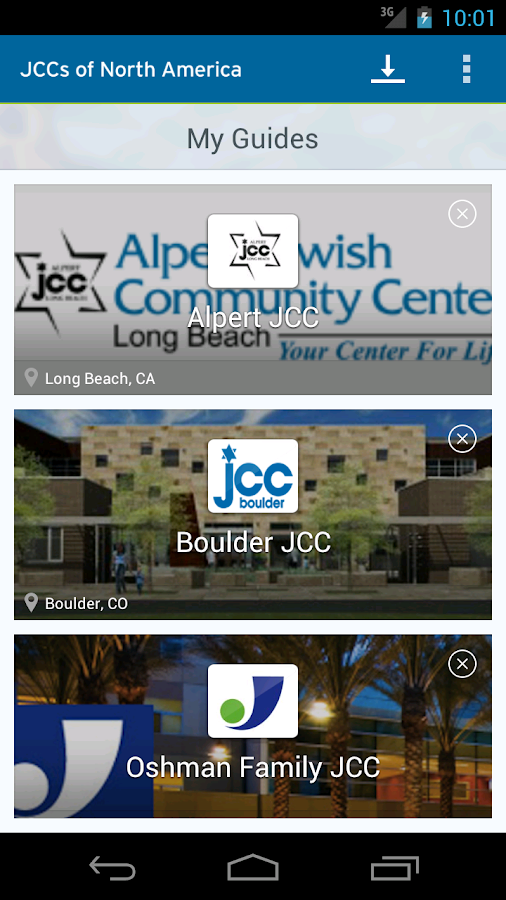 JCC's of North America - screenshot