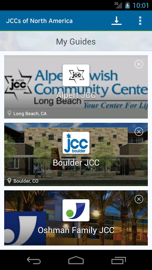 JCC's of North America- screenshot