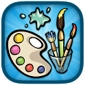 Kids Coloring, Paint & Draw icon