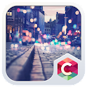 Street Night City View Theme icon