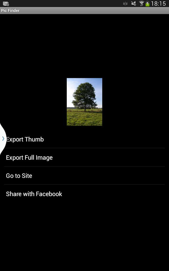 Pic Finder- screenshot