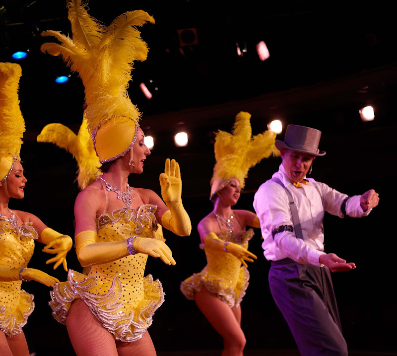 You'll get a kick out of old-school Broadway-style shows on a Crystal cruise.