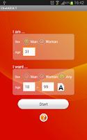 Screenshot of ChatADULT (Random Chat)