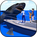 Shark Attack 3D Simulator icon