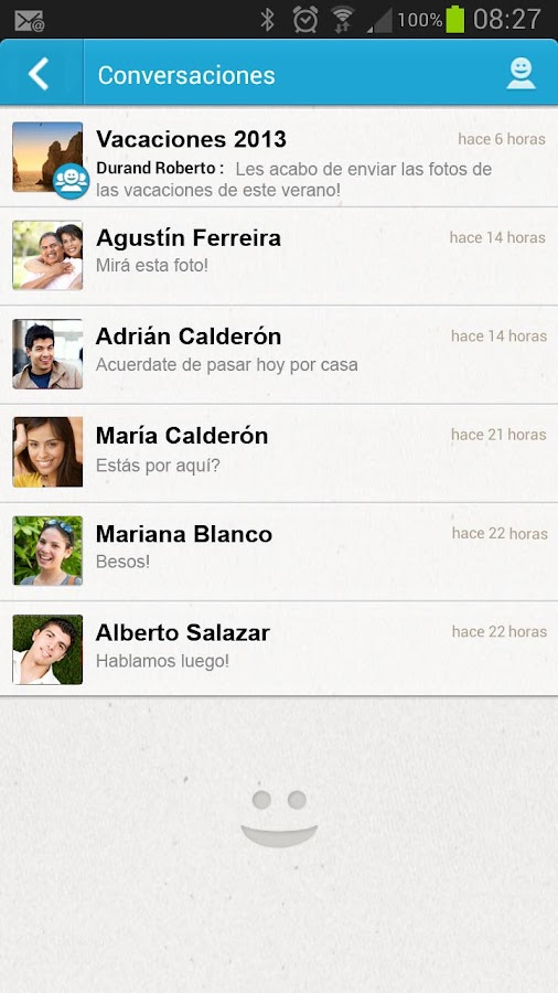 Messenger Telcel - screenshot