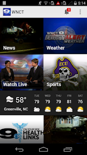 WNCT- screenshot thumbnail