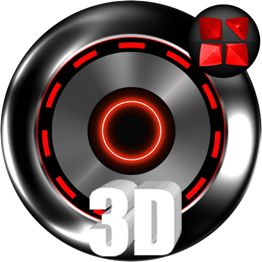 Kromium Red Theme Icon Pack Android APK Download Free By THAAUS