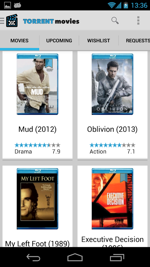 Torrent Movies - YiFy Torrents - screenshot