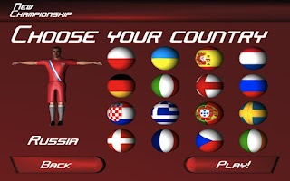 Screenshot of Penalty Football: Champions 14
