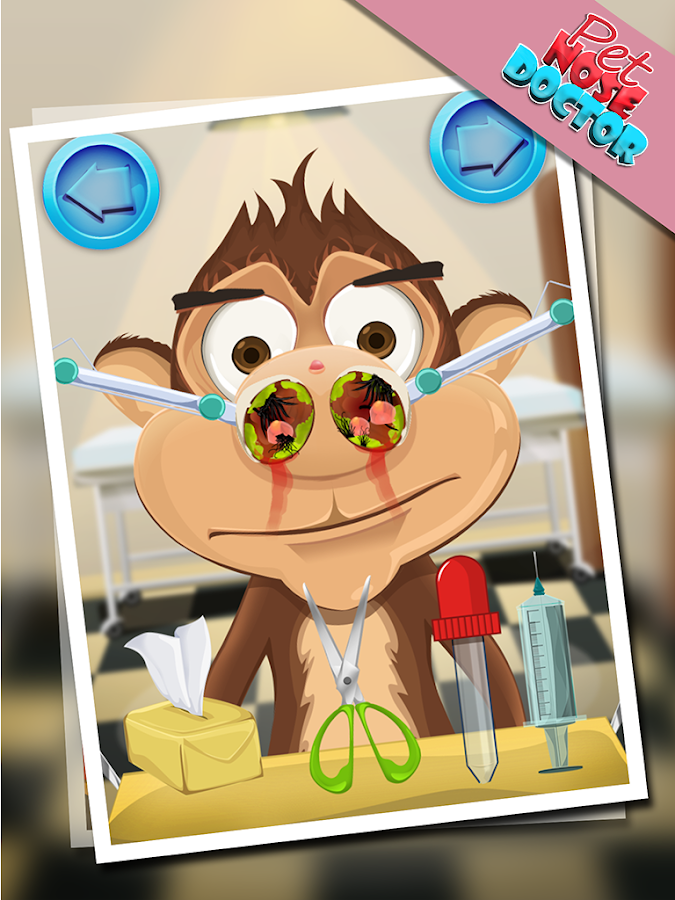 Pet Nose Doctor - Fun Game - screenshot