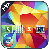 Galaxy s5 solo launcher theme