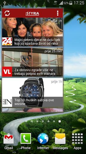 Aktualno widget