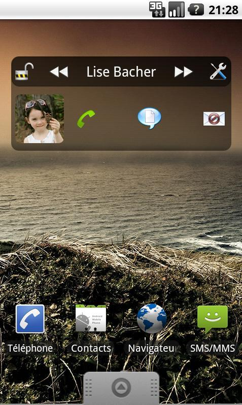 Easy Contact Widget - screenshot