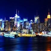 Night New York wallpaper
