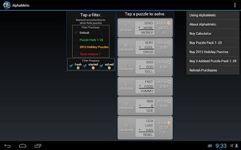AlphaMetic- screenshot thumbnail