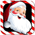 Walking Santa icon