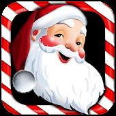 Walking Santa