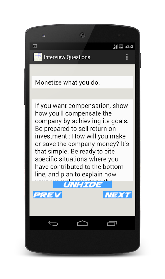 130 Hr Interview Questions Android Apps On Google Play