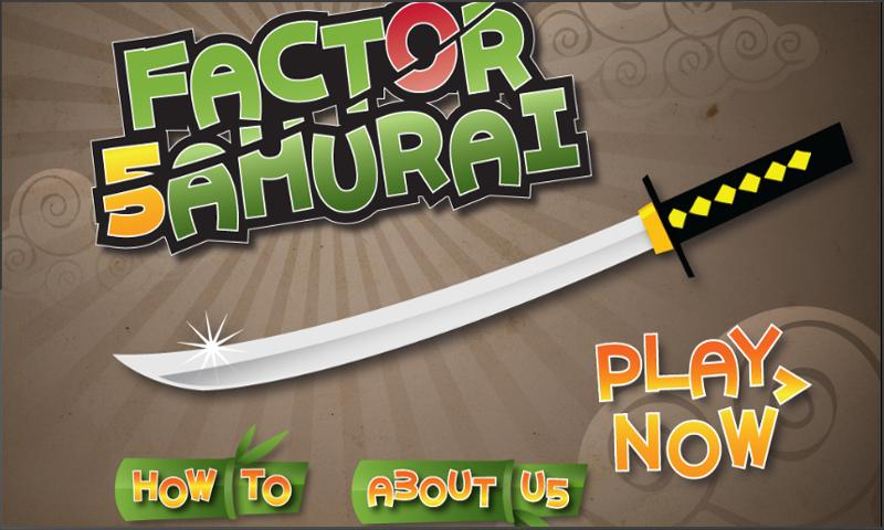 Factor Samurai - screenshot