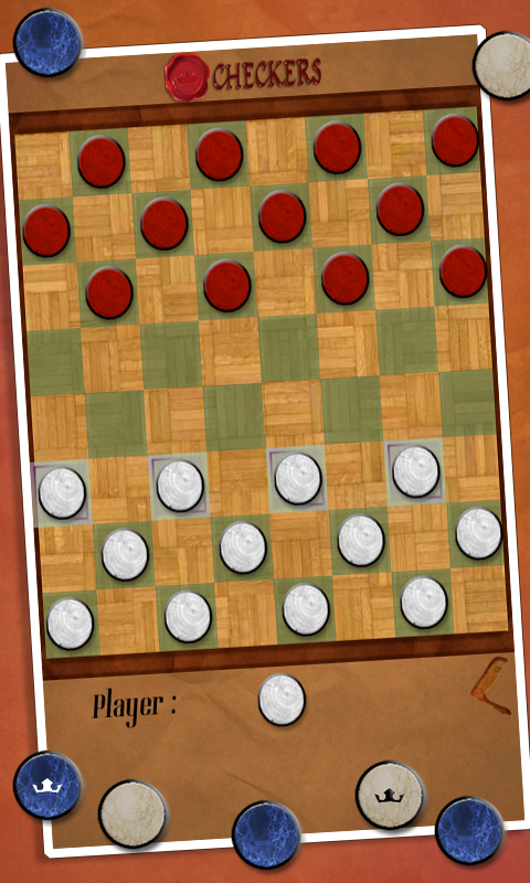 Checkers- screenshot