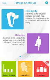 Fitness Check-up Screenshot 1