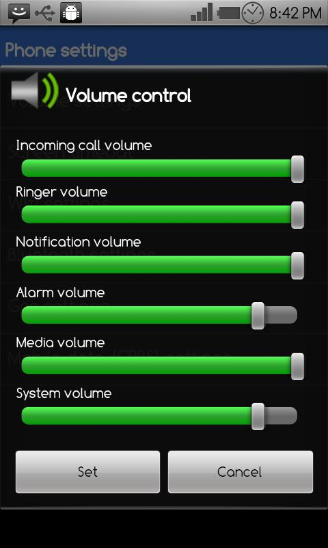 Battery Power Widget- screenshot