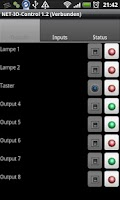 Screenshot of NET-IO-Control