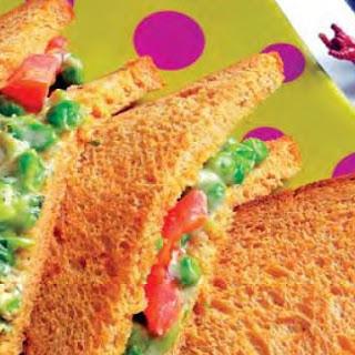 Green Peas Sandwiches