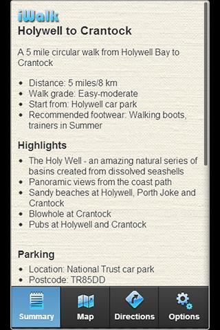 iWalk Holywell to Crantock