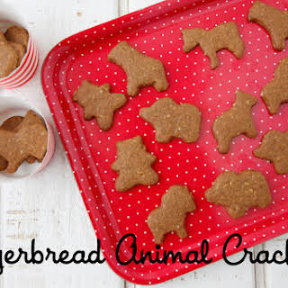 Gingerbread Animal Crackers.