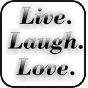 Live Laugh Love doo-dad logo