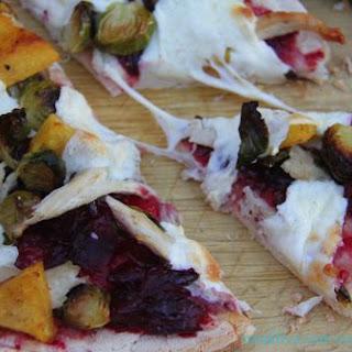 Leftover Thanksgiving Pizza #Sundaysupper.