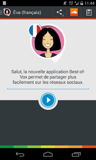 Voix Eva français