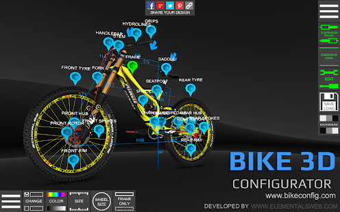 Bike 3D Configurator- screenshot thumbnail
