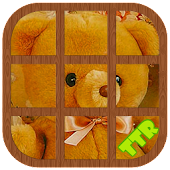 Teddy Bear Sliding Puzzle