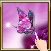 3D Butterfly Magic Wallpaper
