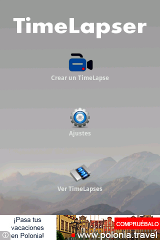TimeLapser- screenshot