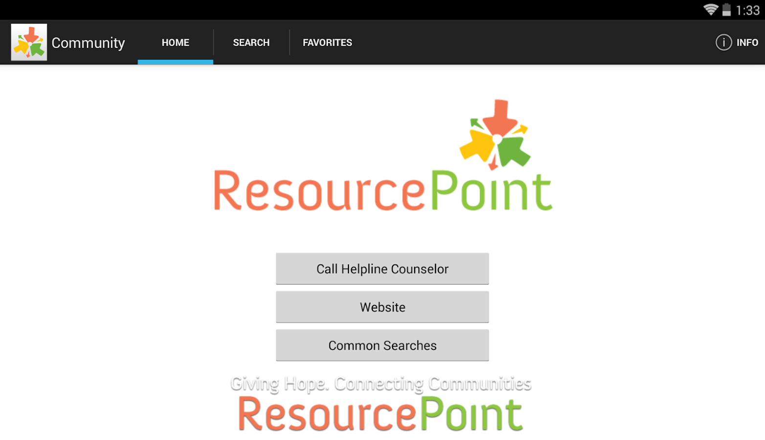 Central Florida Resource Point- screenshot