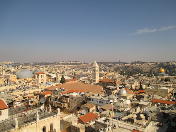 View from the Tower of David