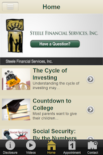 Steele Financial Services- screenshot thumbnail