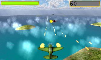 Screenshot of world war II games the pacific