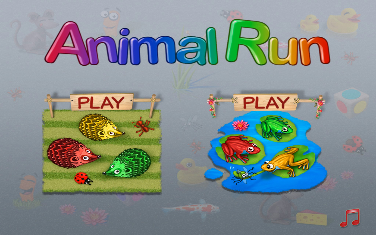 Animal Run - screenshot