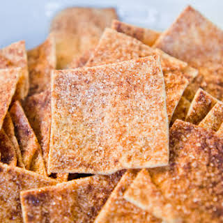 Cinnamon-Sugar Pita Chips.