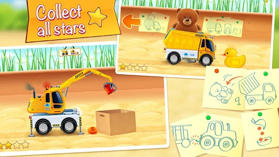 Kids vehicles in sandbox HD - screenshot thumbnail