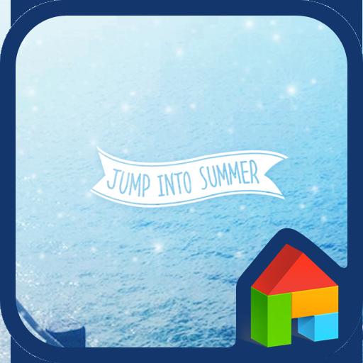 jump into summer 도돌런처 테마 個人化 LOGO-玩APPs