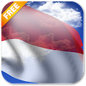 3D Indonesia Flag LWP icon