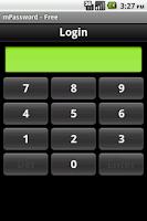 Screenshot of mPassword - Free