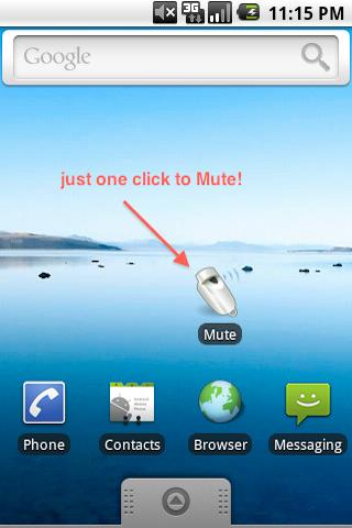 Mute.: screenshot