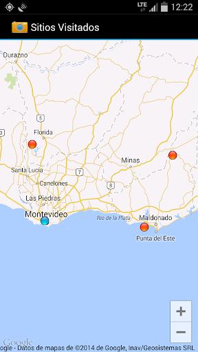 Sitios Visitados